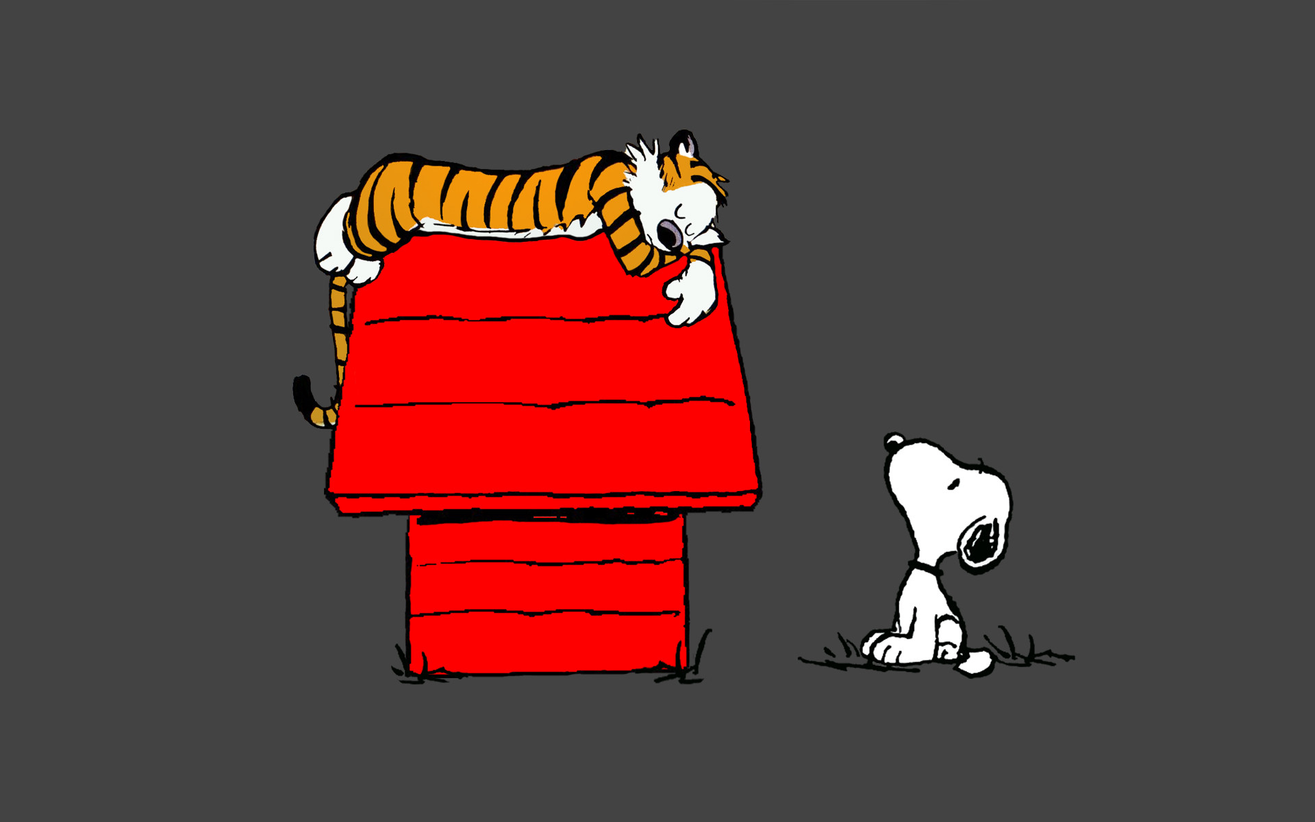 Snoopy and hobbes