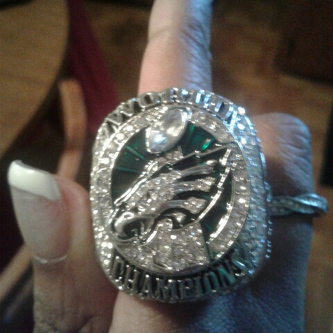 Eagles super bowl ring