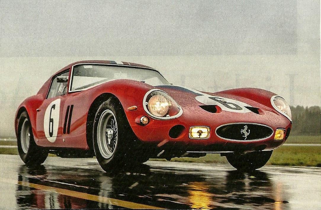 Ferrari 250 gt in rain