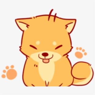 85 853988 shiba inu clipart cute anime kawaii cute dog