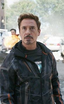 220px robert downey jr. as tony stark in avengers infinity war