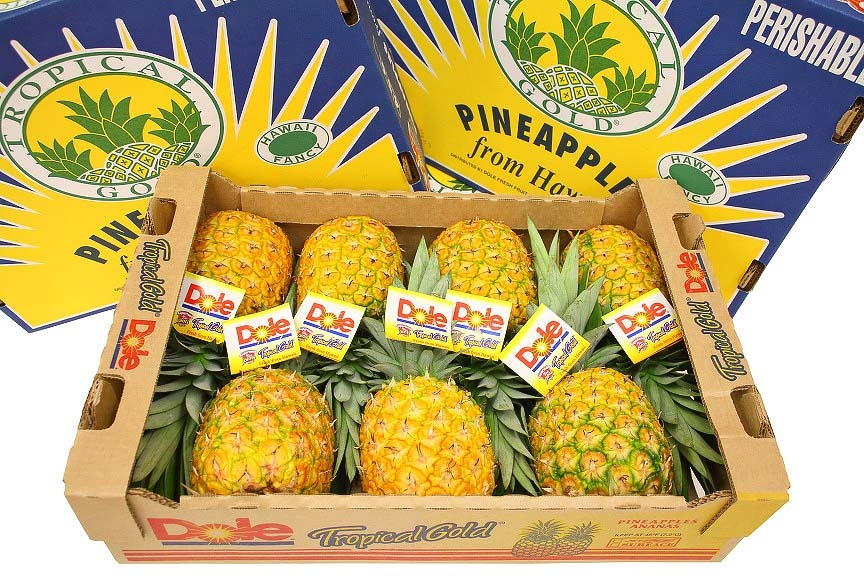 Hawaii pineapples 27 lb