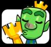 Large trophy goblin