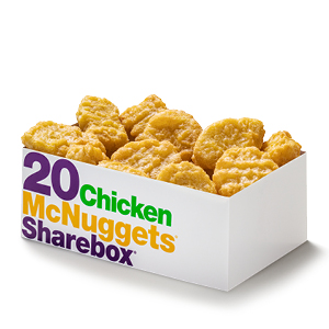 Mcnugget sharebox