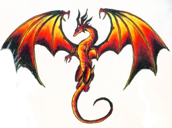 7077 dark dragon spirit logo