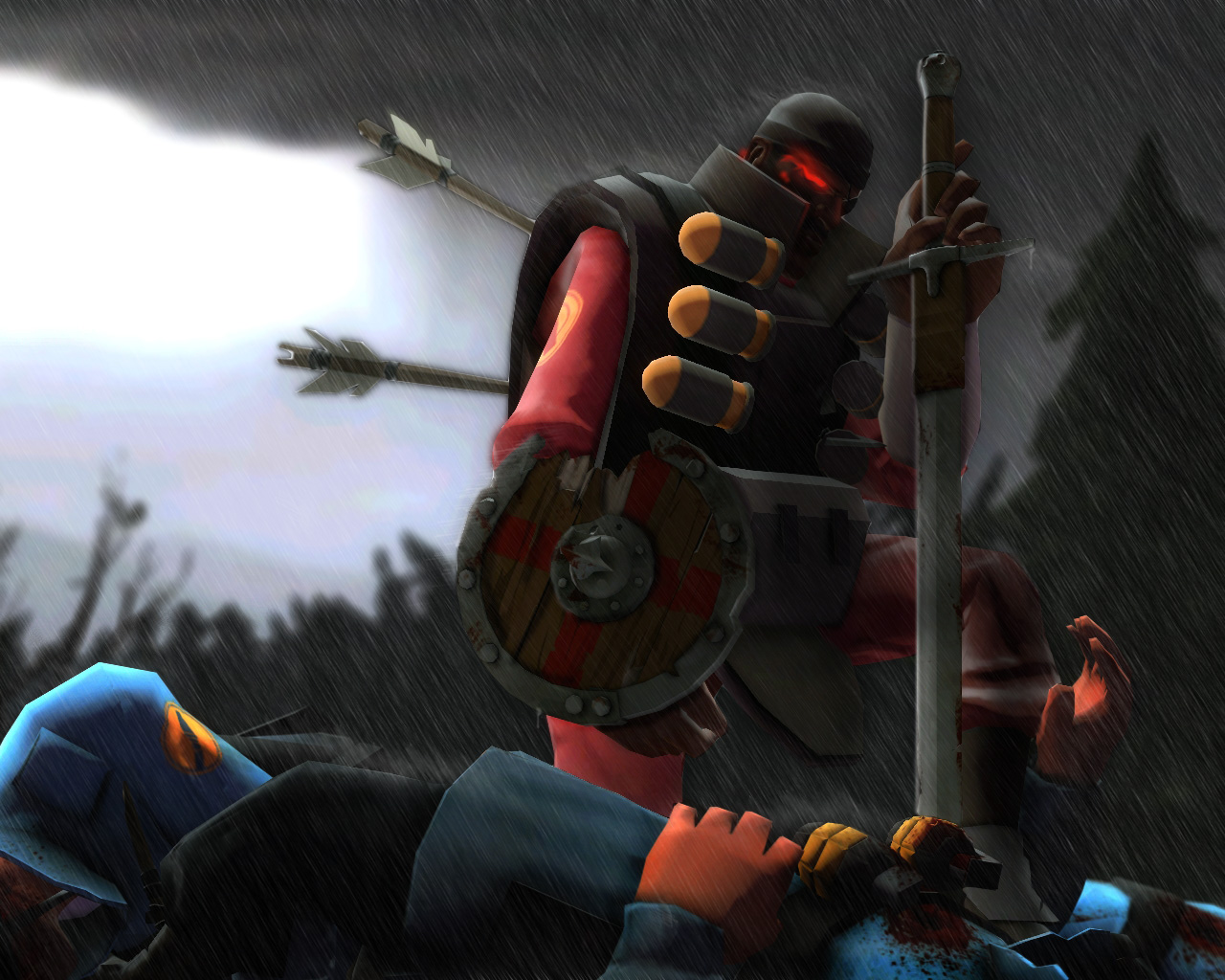 the soldier and the demoman team fortress 2  8f6ef1ad073525f7d895cd9484303b0d