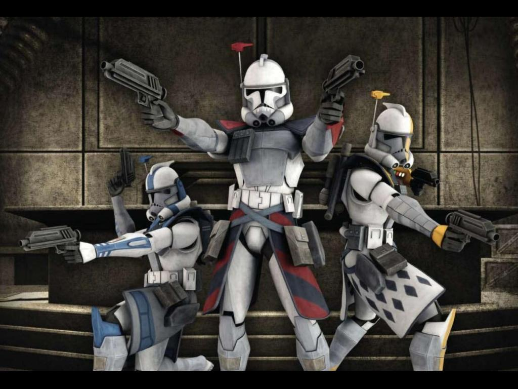 The clone wars arc troopers