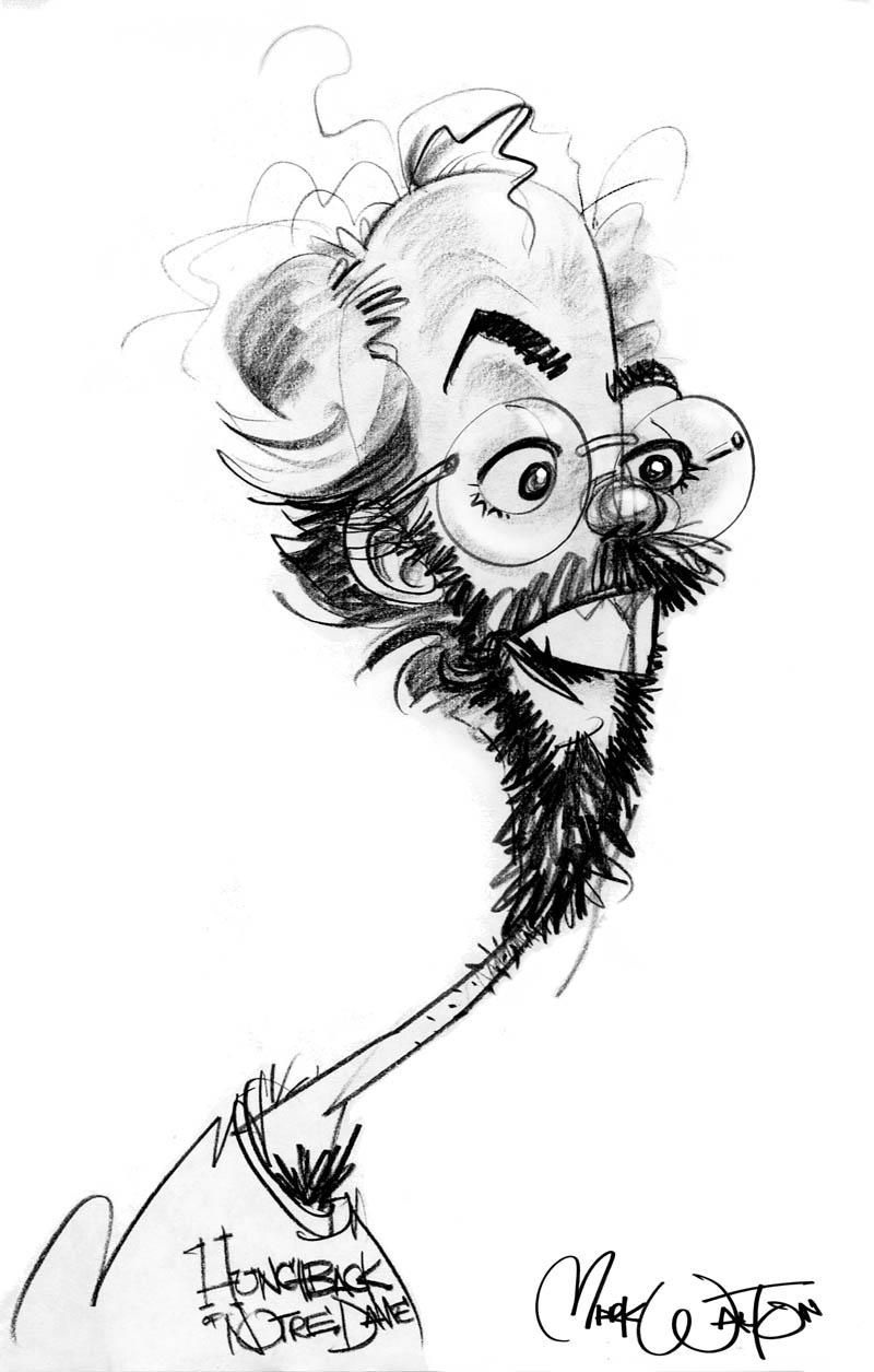 Self caricature 3