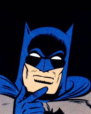 Batman   pensive