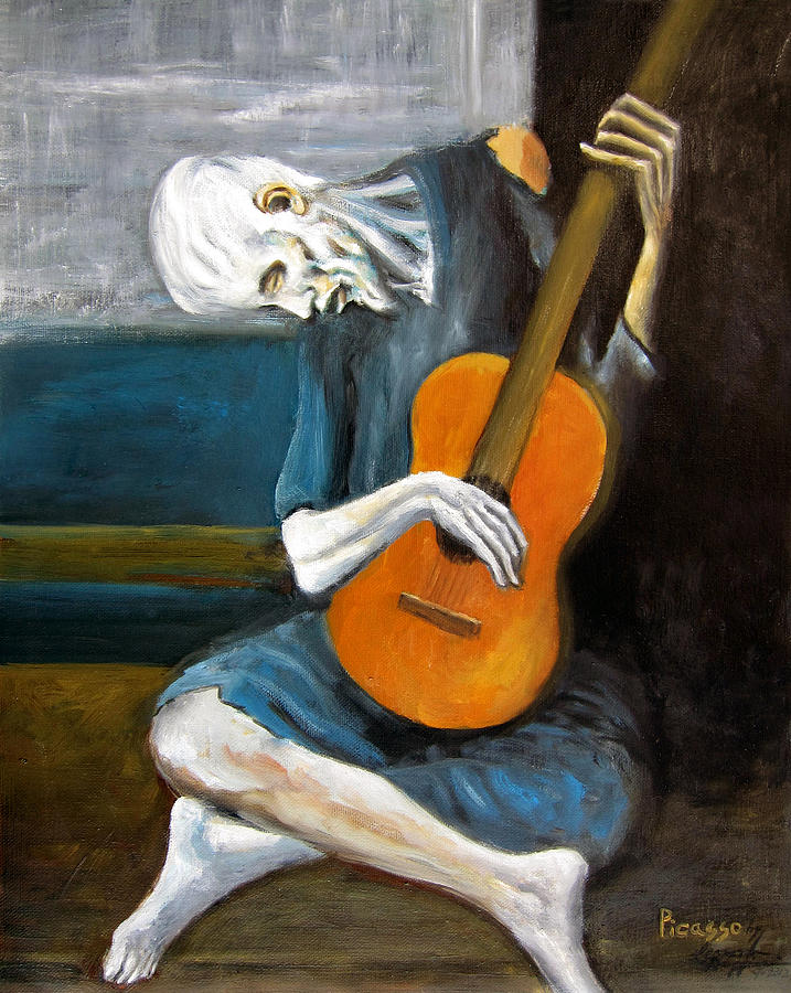 Picassos old guitarist leonardo ruggieri  1