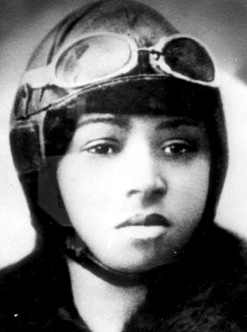 Bessie coleman woman pilot aviator