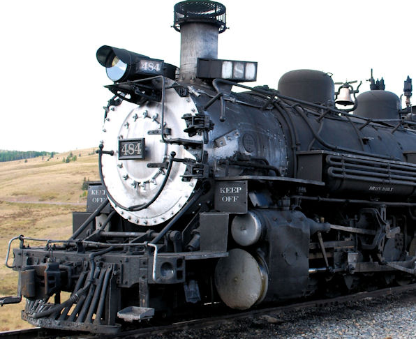 Cumbres toltec steam engine   tiny